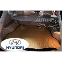 Автомобильные коврики EVA в багажник - Хендай / Hyundai