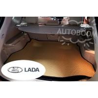 Автомобильные коврики EVA в багажник - ВАЗ / Лада