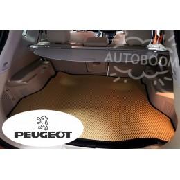 Автомобильные коврики EVA в багажник - Пежо / Peugeot
