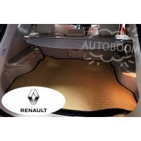 Автомобильные коврики EVA в багажник - Рено / Renault