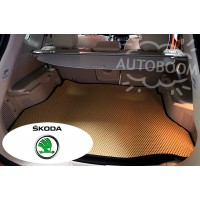 Автомобильные коврики EVA в багажник - Шкода / Skoda