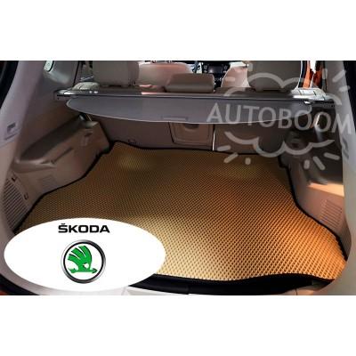 Автомобильные коврики для багажника EVA для Шкода / Skoda