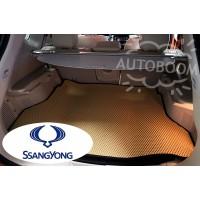 Автомобильные коврики EVA в багажник - Санг Йонг / SsangYong