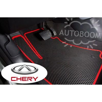 Автомобильные коврики EVA для Чери / Chery (Ромб)