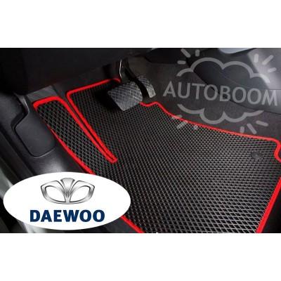 Автомобильные коврики EVA для Дэу / Daewoo (Ромб)