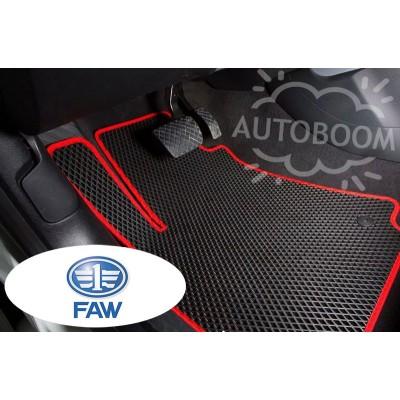Автомобильные коврики EVA для ФАВ / FAW (Ромб)