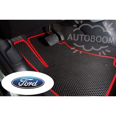 Автомобильные коврики EVA для Форд / Ford (Ромб)