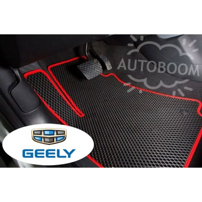 Автомобильные коврики EVA для Джили / Geely (Ромб)