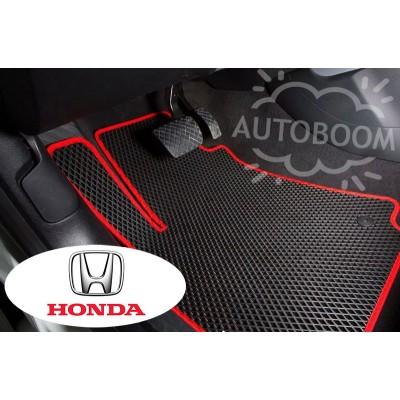 Автомобильные коврики EVA для Хонда / Honda (Ромб)