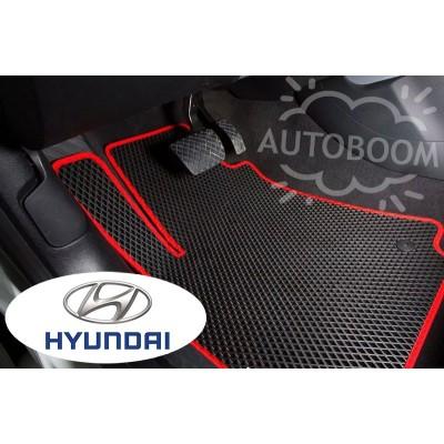 Автомобильные коврики EVA для Хендай / Hyundai (Ромб)