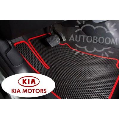 Автомобильные коврики EVA для КИА / KIA (Ромб)