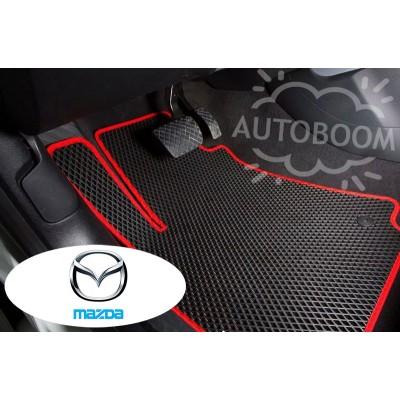 Автомобильные коврики EVA для Мазда / Mazda (Ромб)
