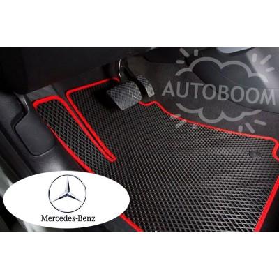 Автомобильные коврики EVA для Мерседес / Mercedes (Ромб)