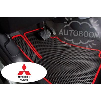 Автомобильные коврики EVA для Мицубиси / Mitsubishi (Ромб)
