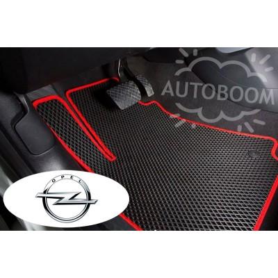Автомобильные коврики EVA для Опель / Opel (Ромб)