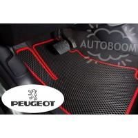 Автомобильные коврики EVA на Пежо / Peugeot (Ромб)