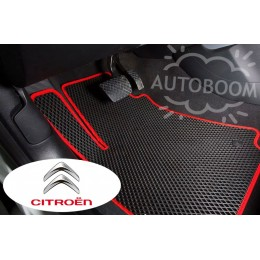 Автомобильные коврики EVA на Ситроен / Citroen (Ромб)