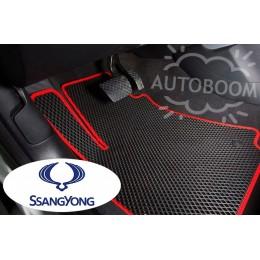 Автомобильные коврики EVA на Санг Йонг / SsangYong (Ромб)