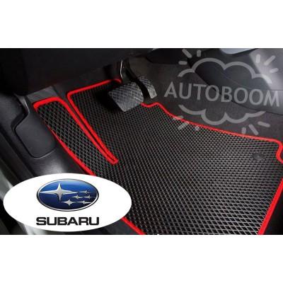 Автомобильные коврики EVA для Субару / Subaru (Ромб)