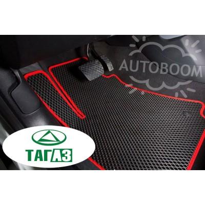 Автомобильные коврики EVA для ТагАЗ (Ромб)
