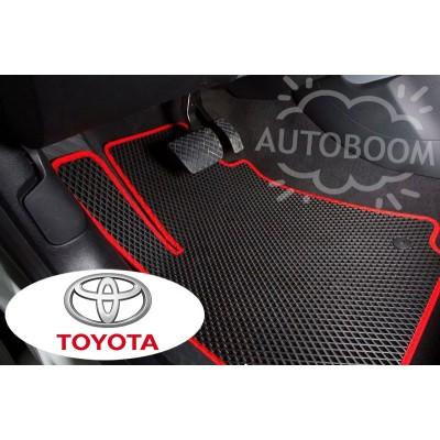 Автомобильные коврики EVA для Тойота / Toyota (Ромб)