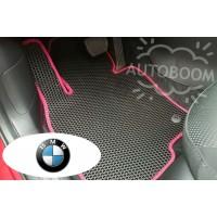 Автомобильные коврики EVA на БМВ / BMW (Соты)