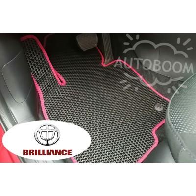 Автомобильные коврики EVA для Бриллианс / Brilliance (Соты)