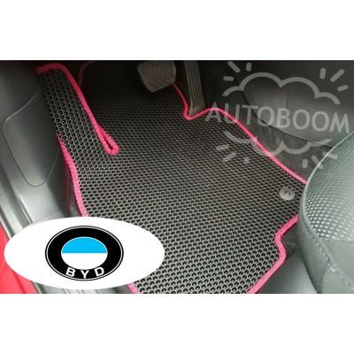 Автомобильные коврики EVA для БИД / BYD (Соты)