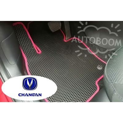 Автомобильные коврики EVA для Чанган / Changan (Соты)