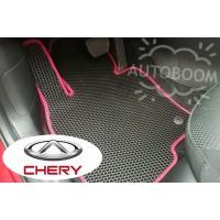 Автомобильные коврики EVA на Чери / Chery (Соты)