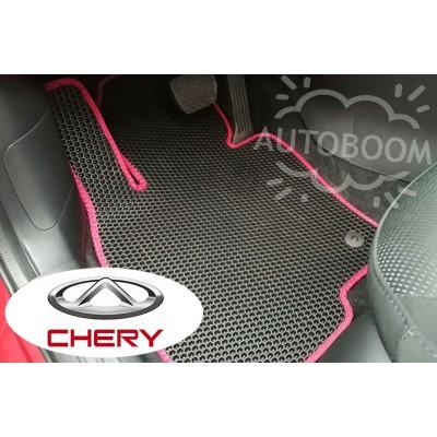 Автомобильные коврики EVA для Чери / Chery (Соты)