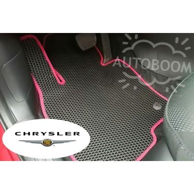 Автомобильные коврики EVA для Крайслер / Chrysler (Соты)