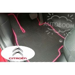 Автомобильные коврики EVA на Ситроен / Citroen (Соты)