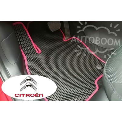Автомобильные коврики EVA для Ситроен / Citroen (Соты)