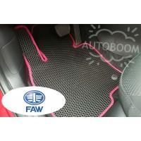 Автомобильные коврики EVA на ФАВ / FAW (Соты)