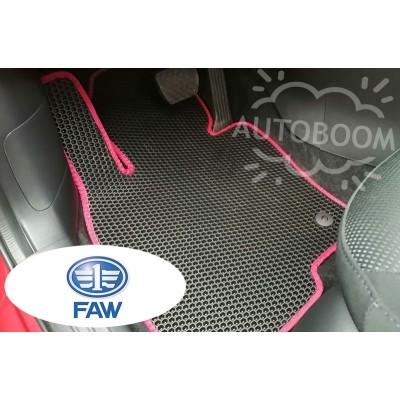 Автомобильные коврики EVA для ФАВ / FAW (Соты)