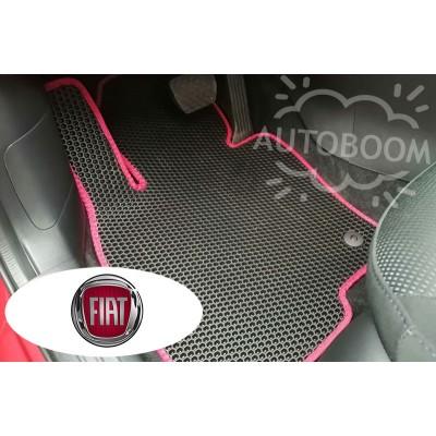 Автомобильные коврики EVA для Фиат / Fiat (Соты)
