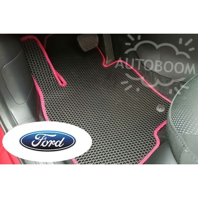Автомобильные коврики EVA для Форд / Ford (Соты)