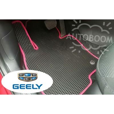 Автомобильные коврики EVA для Джили / Geely (Соты)