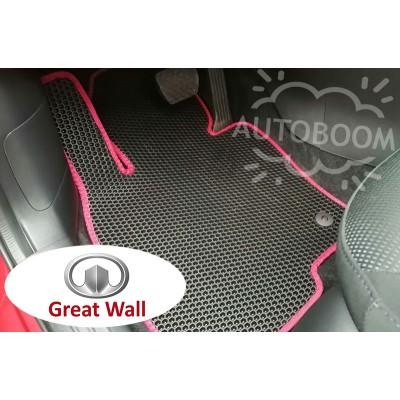 Автомобильные коврики EVA для Гриат Вол / Great Wall (Соты)