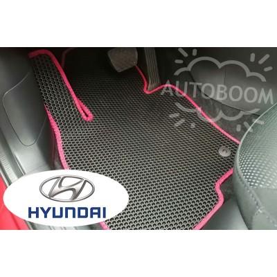 Автомобильные коврики EVA для Хендай / Hyundai (Соты)