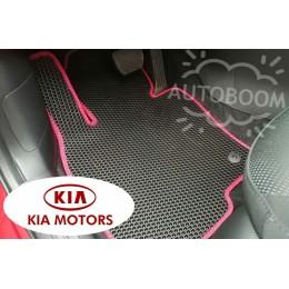 Автомобильные коврики EVA на КИА / KIA (Соты)