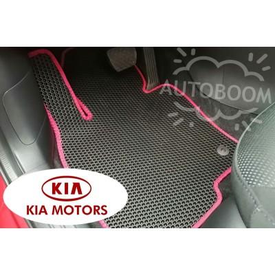 Автомобильные коврики EVA для КИА / KIA (Соты)