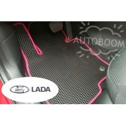 Автомобильные коврики EVA на ВАЗ / Лада (Соты)