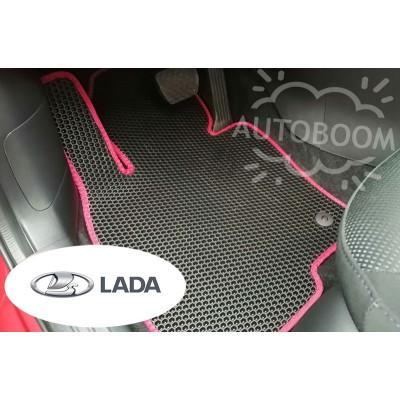 Автомобильные коврики EVA для ВАЗ / Лада (Соты)