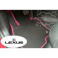Автомобильные коврики EVA на Лексус / Lexus (Соты)