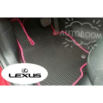 Автомобильные коврики EVA для Лексус / Lexus (Соты)
