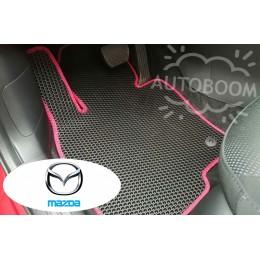 Автомобильные коврики EVA на Мазда / Mazda (Соты)