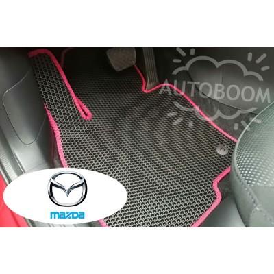 Автомобильные коврики EVA для Мазда / Mazda (Соты)