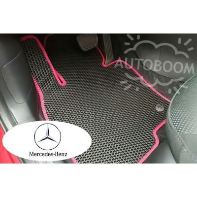 Автомобильные коврики EVA для Мерседес / Mercedes (Соты)